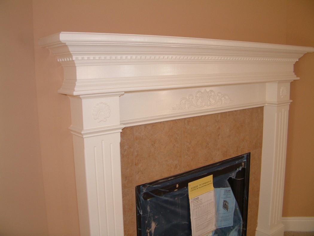 Wondrous Fireplace Mantels Trim Work Door Replacement Rotten Wood Interior Design Ideas Clesiryabchikinfo