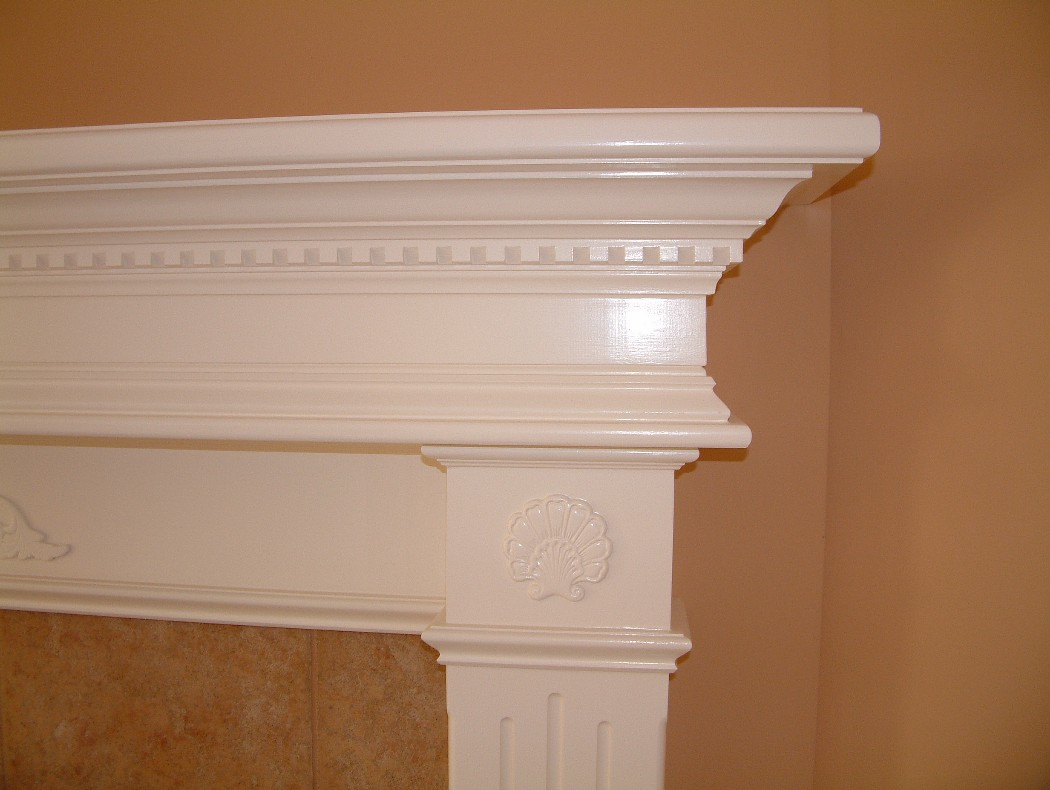 Superb Fireplace Mantels Trim Work Door Replacement Rotten Wood Interior Design Ideas Clesiryabchikinfo